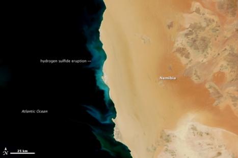Hydrogen Sulfide Eruption off Namibian Coast
