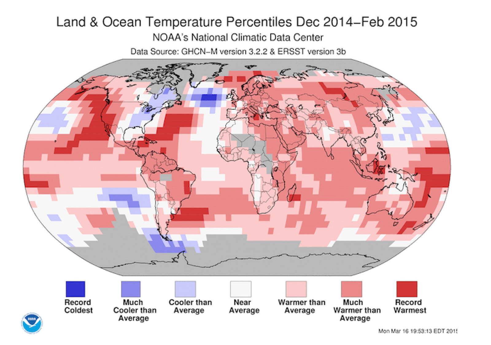 World ocean heartbeat fading nasty signs north atlantic noaa land ocean temperatuer anomalies gumiabroncs Images