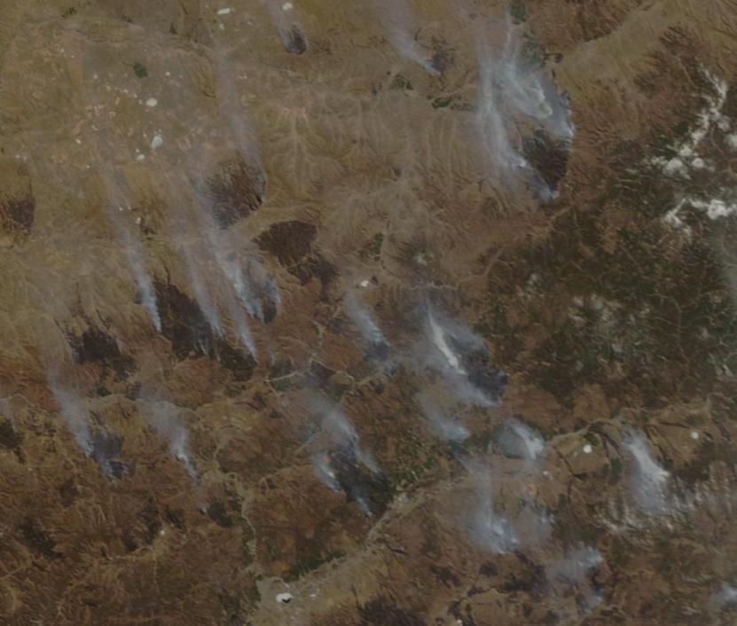 Chita Fires April 17 2015