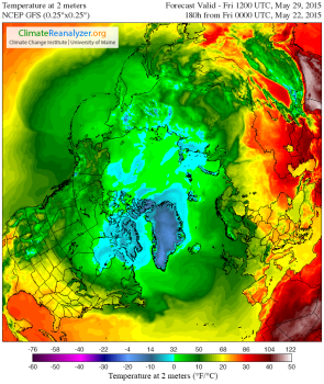 Air Temperature Arctic May 29