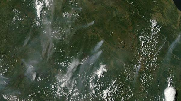 Alaska wildfires Sunday