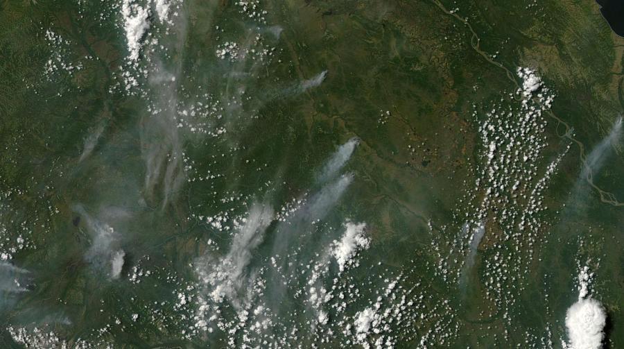 Alaska wildfires Sunday