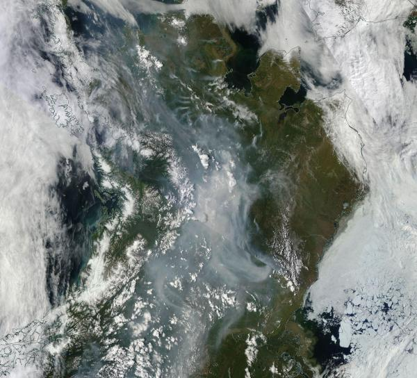 Alaska Wildfires Wednesday June 24