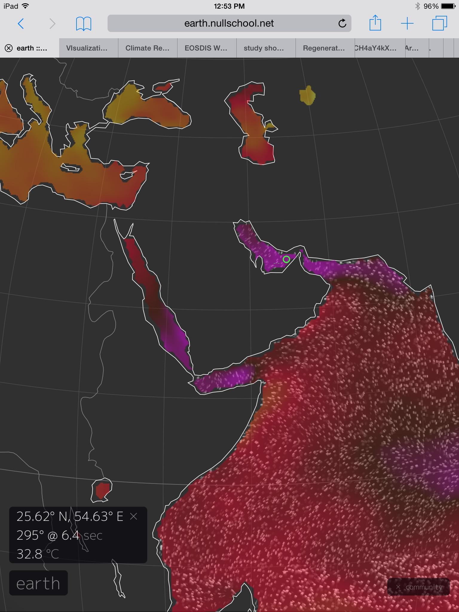 Wet Bulb Temperatures C Robertscribbler - Us weather map temperature celsius