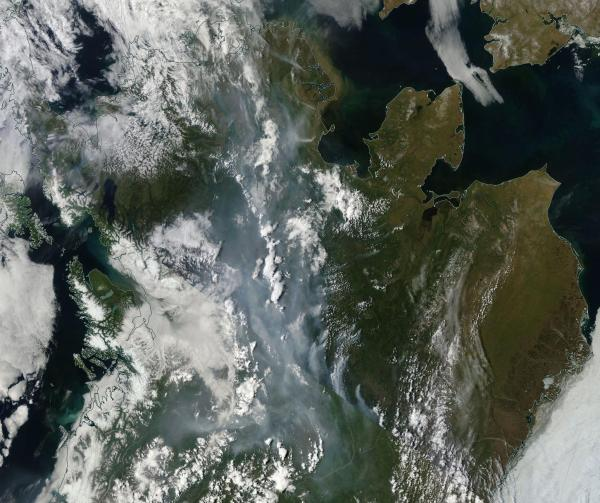 Wildfires Alaska June 22