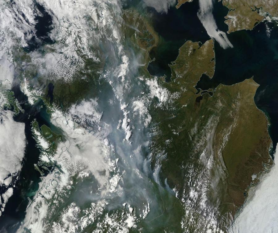 Wildfires Alaska June 22