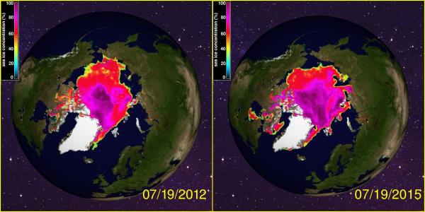 2012 to 2015 Comparison