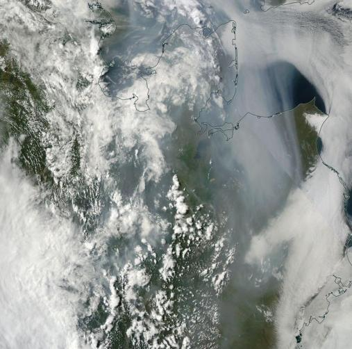 Alaska Wildfires July 14