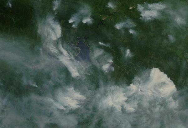 Massive Siberian Wildfires