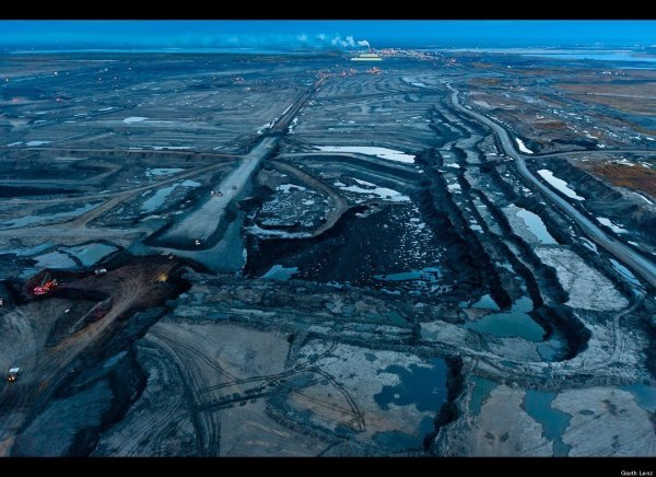 Mordor-like Tar Sands