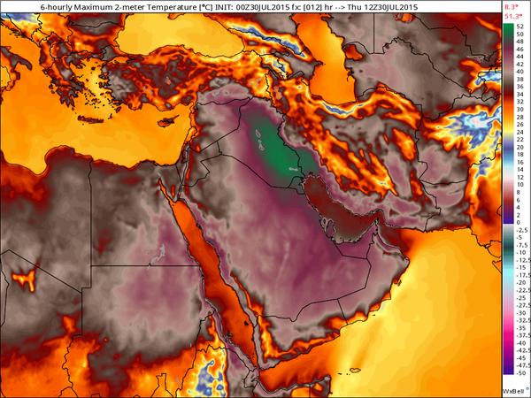 Persian Gulf Heatwave