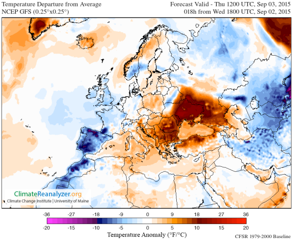 Ukraine Heatwave