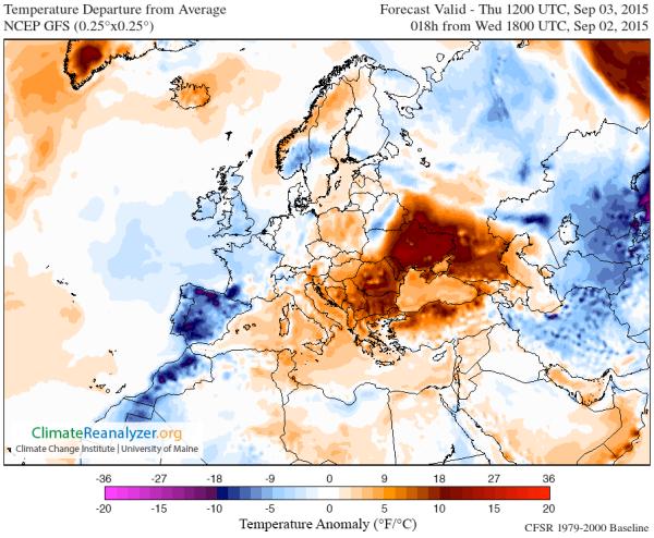 Ukraine Heatwave