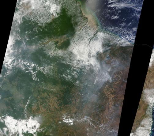Amazon Wildfires October 18