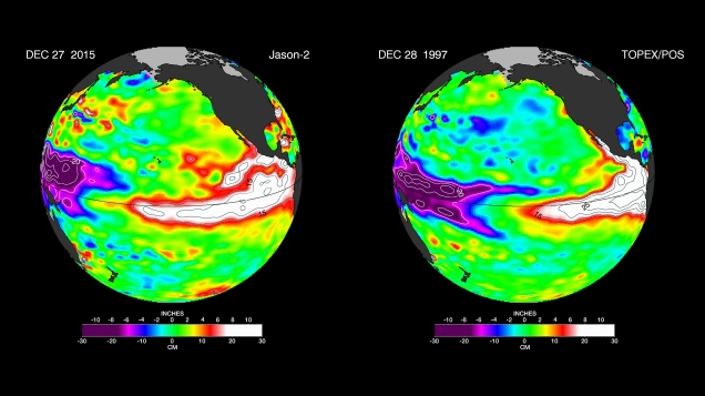 NASA: Worst of El Nino Still to Come. With Climate Change in the Mix, 2015-2016 Event May Equal Most Devastating On Record