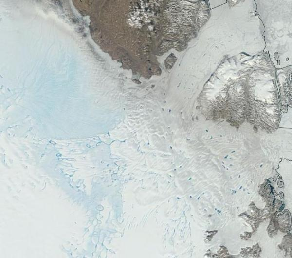 Greenland Melt Zachariae Isstrom