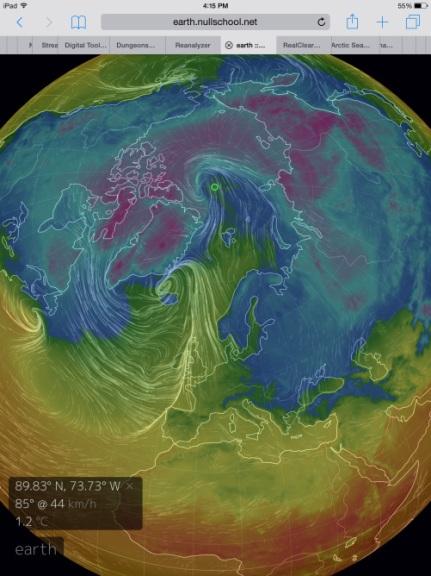 Warm Arctic Storm