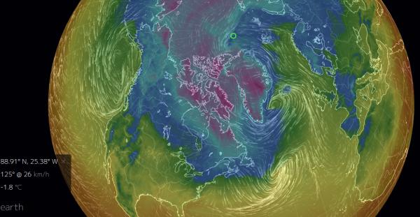 Warm North Atlantic Winds