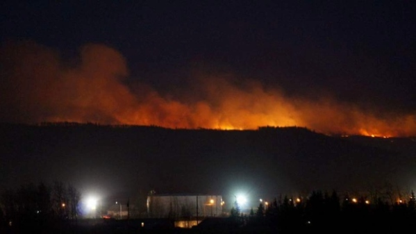Taylor Fire in Fort St John