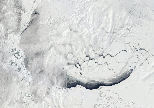 Beaufort rapid melt 2016