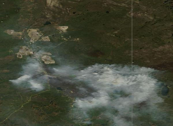 Fort McMurray Fire May 15