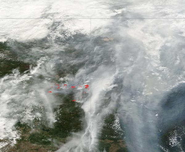 Fort McMurray Fire Thursday