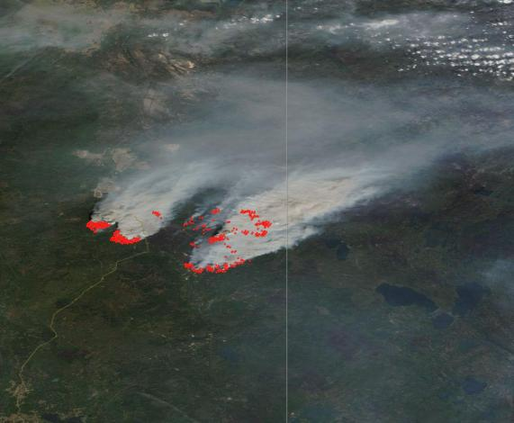 Fort McMurray Fires Monday
