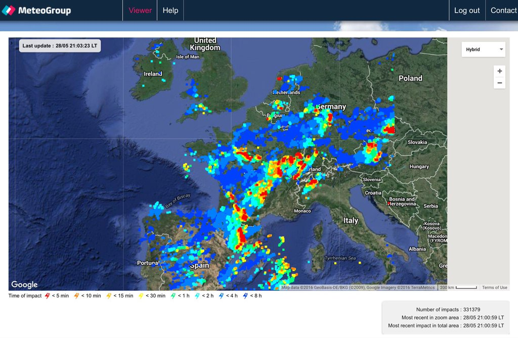 Fire In The Sky More Than 330000 Lightning Strikes Hit & Lighting Map - Democraciaejustica