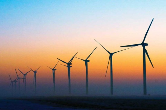 Turbines in the Gloaming