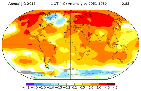 2015 El Nino Polar Amplification