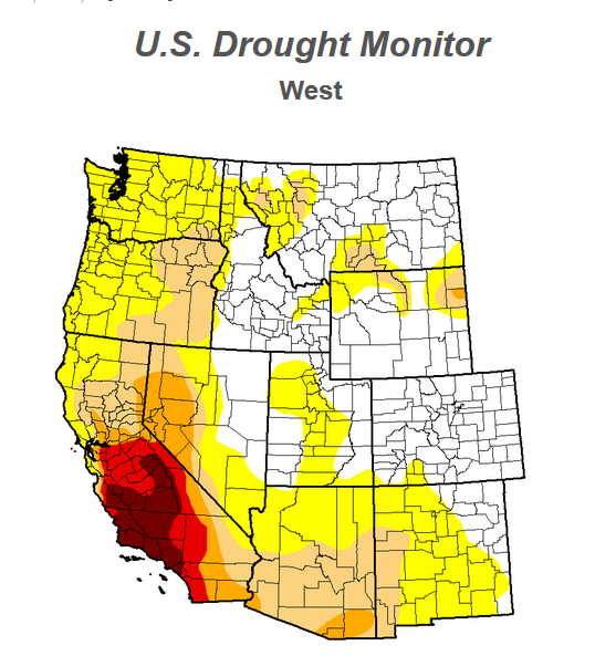 Dry US West