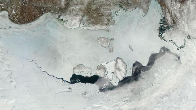 East Siberian Sea Melting