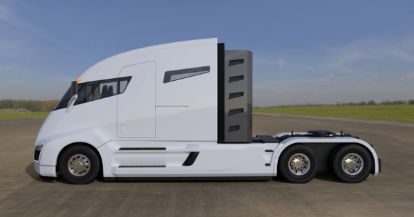 Nikola One Side View
