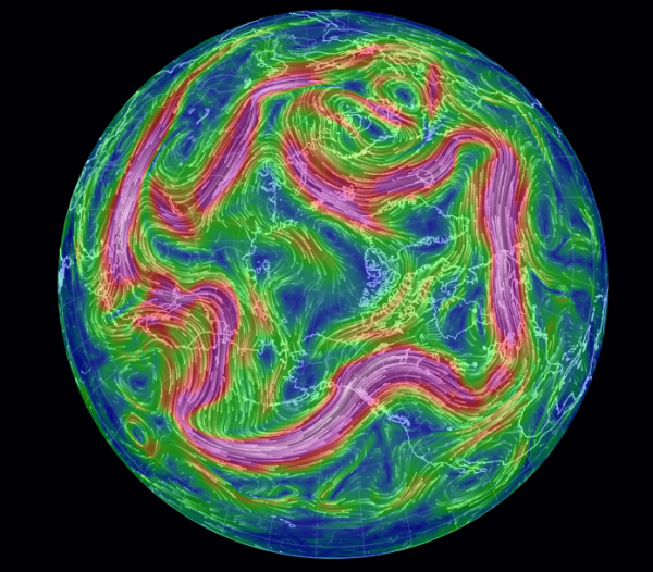 September of 2015's Crushed Polar Vortex During a Spiking El Nino is a Bad Sign