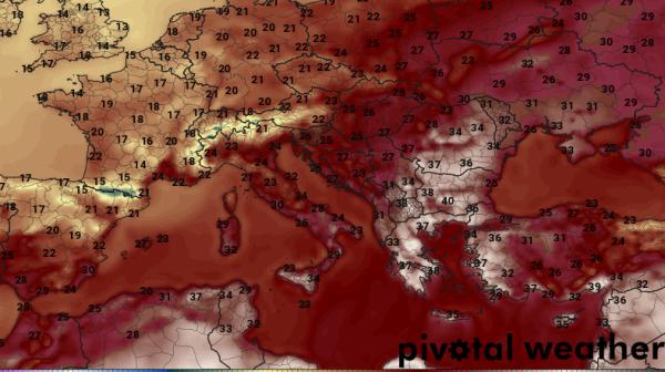 Southeastern European Heatwave