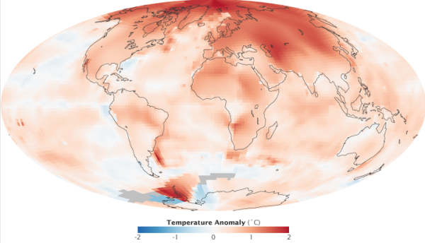 Arctic Warming Faster Than Rest of World 2