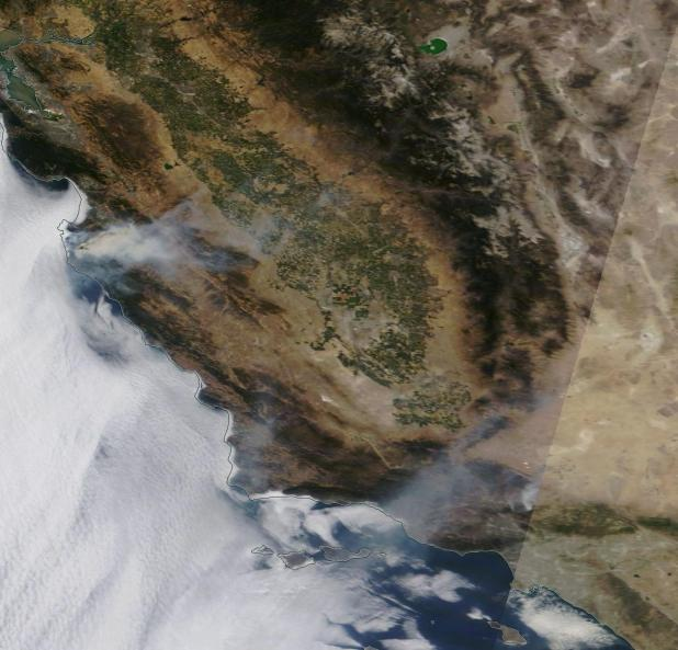 California Wildfires July 24