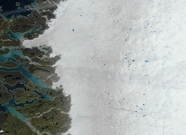 Greenland Glacial Melt