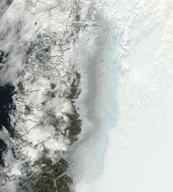 Greenland Melt July 20