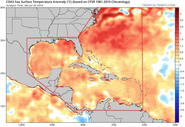 Record Hot Atlantic Basin Sea Surface Temperatures