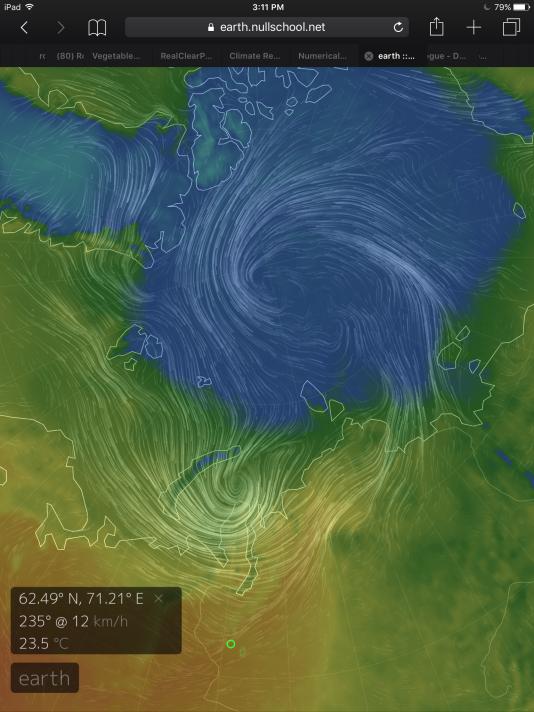 Warm Arctic Storm Tearing Sea Ice to Shreds amidst Big 2016 Heat