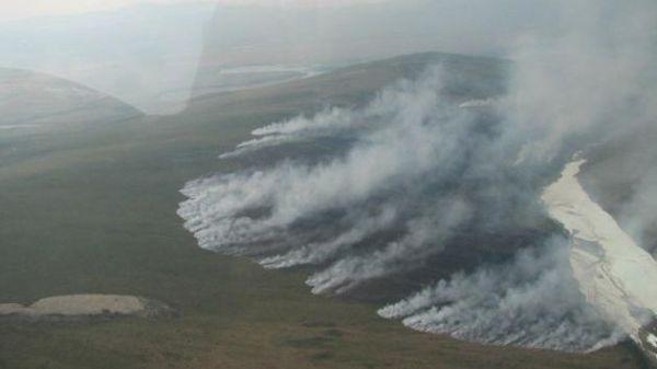 Permafrost Burning