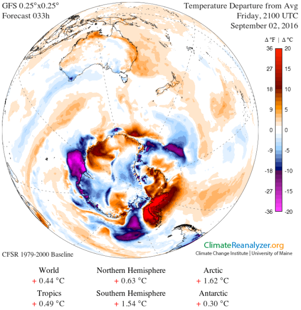 West Antarctic Heatwave