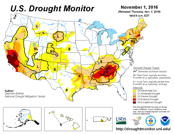 us-drought-monitor-thursday-nov-3