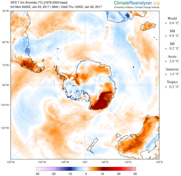 antarctic-warming