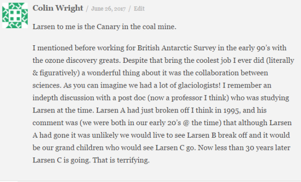Featured Comment Colin Wright