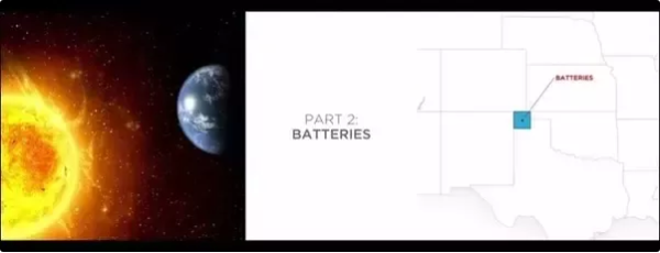 Elon Musk Claims An Area Of Solar Panels The Size Blue Square Could Power US Black Represents Needed For