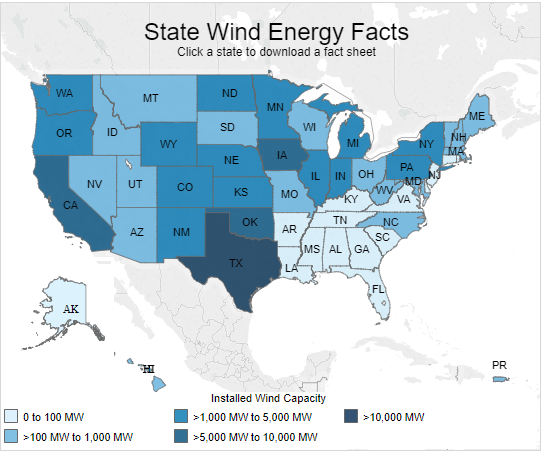 Oklahoma Wind Map.Oklahoma To Build World S Second Largest Wind Farm As France Uk