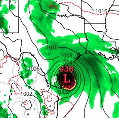Hurricane as Rain Bomb — Rapidly Intensifying Harvey