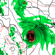 Hurricane as Rain Bomb — Rapidly Intensifying Harvey Threatens to